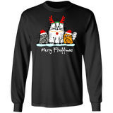 Christmas Long-Sleeved Funny Gift Shirt Sweatshirt Custom Designed 05-002