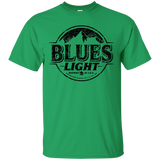 Blues Busch Light Beer T-Shirt