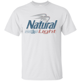Natural Light Beer Brand Logo Label T-Shirt