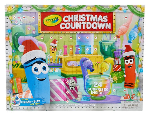 Crayola Advent Calendar