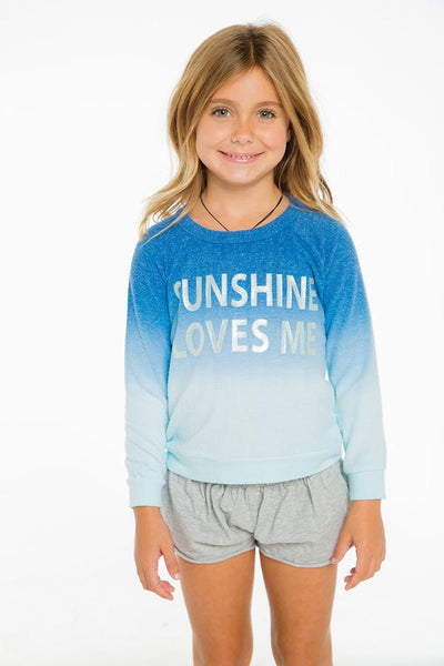 Chaser Sunshine Loves Me Pullover