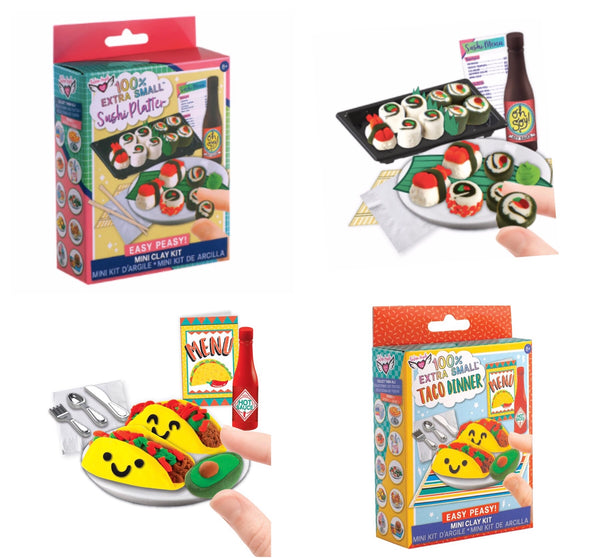 Extra Small Mini Clay Kits Party Favours