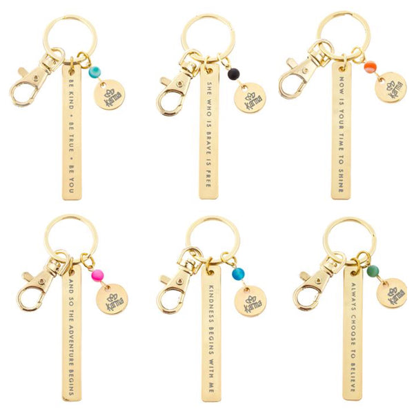 inspirational key chains
