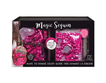 Magic Sequin Super Set in Pink