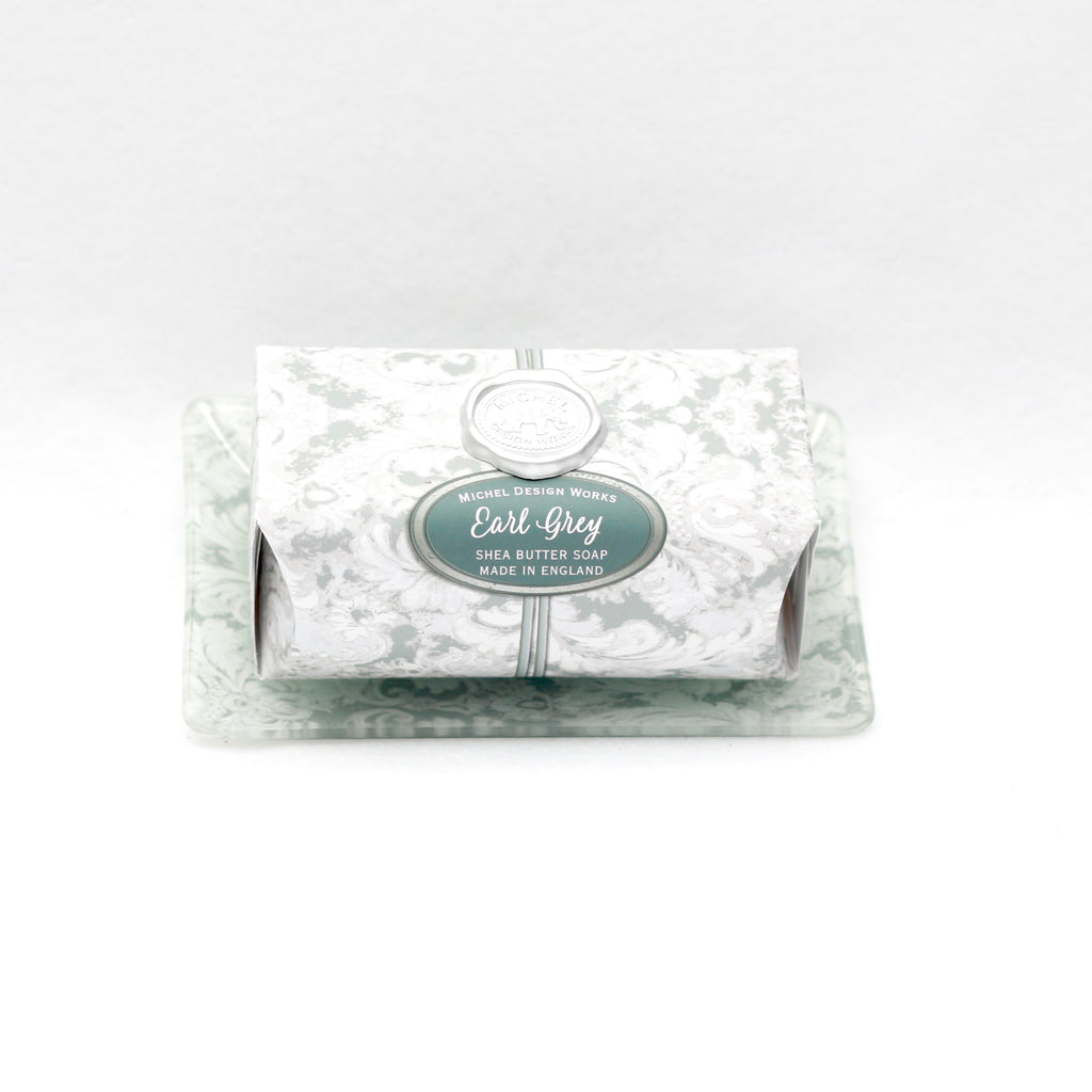 Earl Grey Soap Dish and Bar