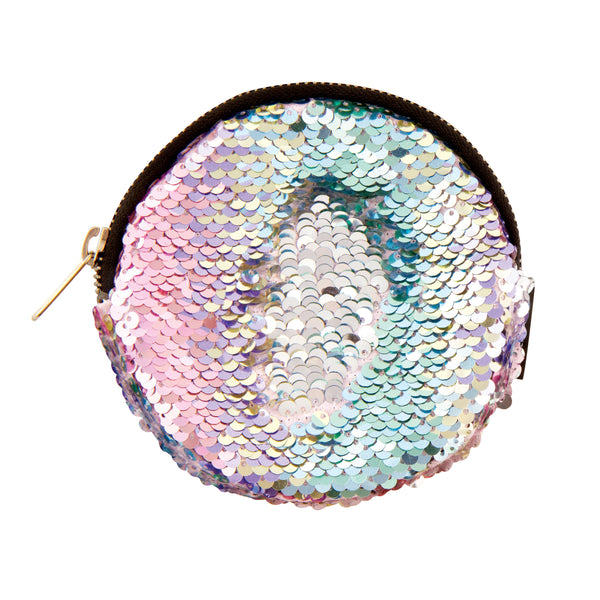Magic Sequin Circle Pouch