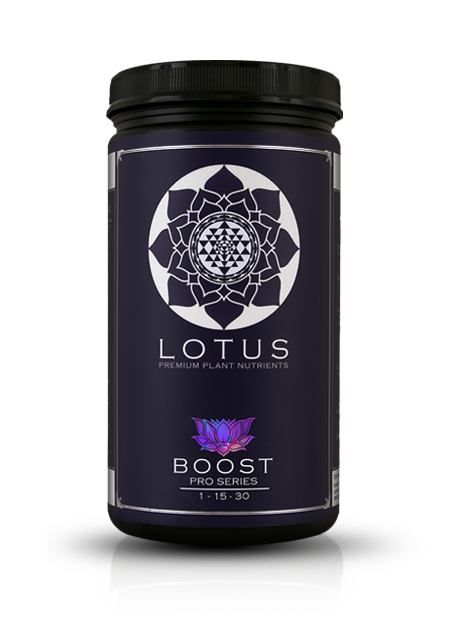 Lotus Pro Series Boost - The only bloom booster on the market to contain a water soluble amino acid portion of nitrogen