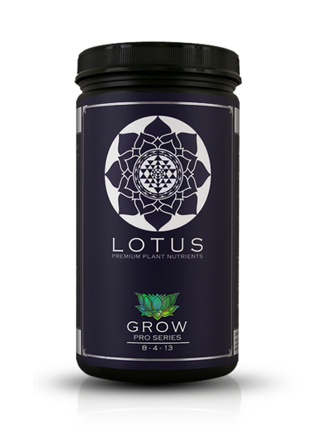 Lotus Pro Series Grow - Formulated to produce lush, rapid vegetative growth