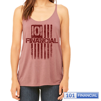 101 Flag - Women's Slouchy Tank - MORE COLORS