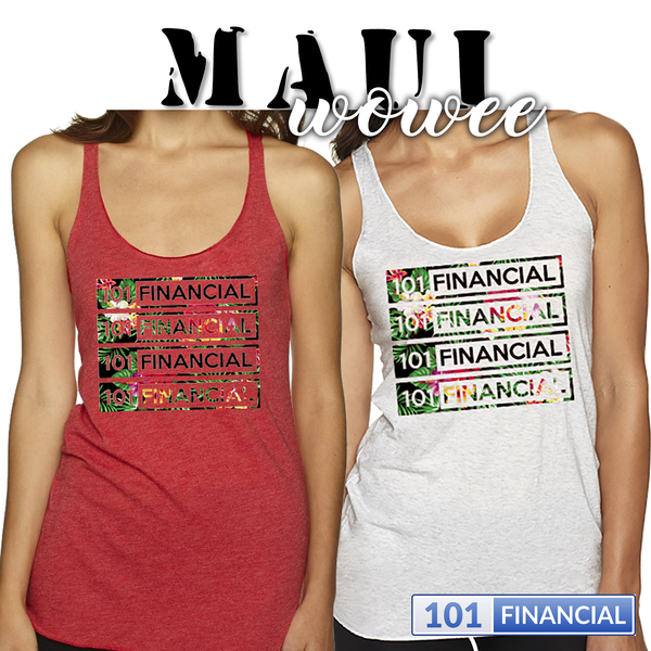 Maui WOWEE - Ladies' Triblend Racerback Tank - CI Summit '16 - MORE COLORS