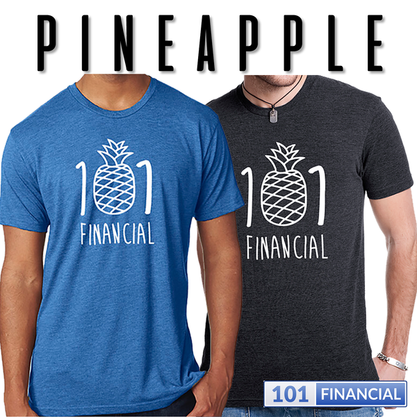 Pineapple 101 Next Level Triblend Crew T-shirt - MORE COLORS