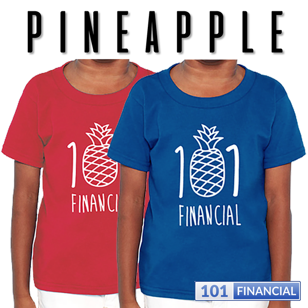 Pineapple 101 - Toddler Rabbit Skins™ LAT Apparel Tees