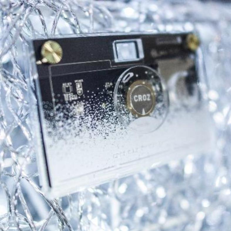 CROZ - BLANC D.I.Y. Digital Camera (Limited Edition)