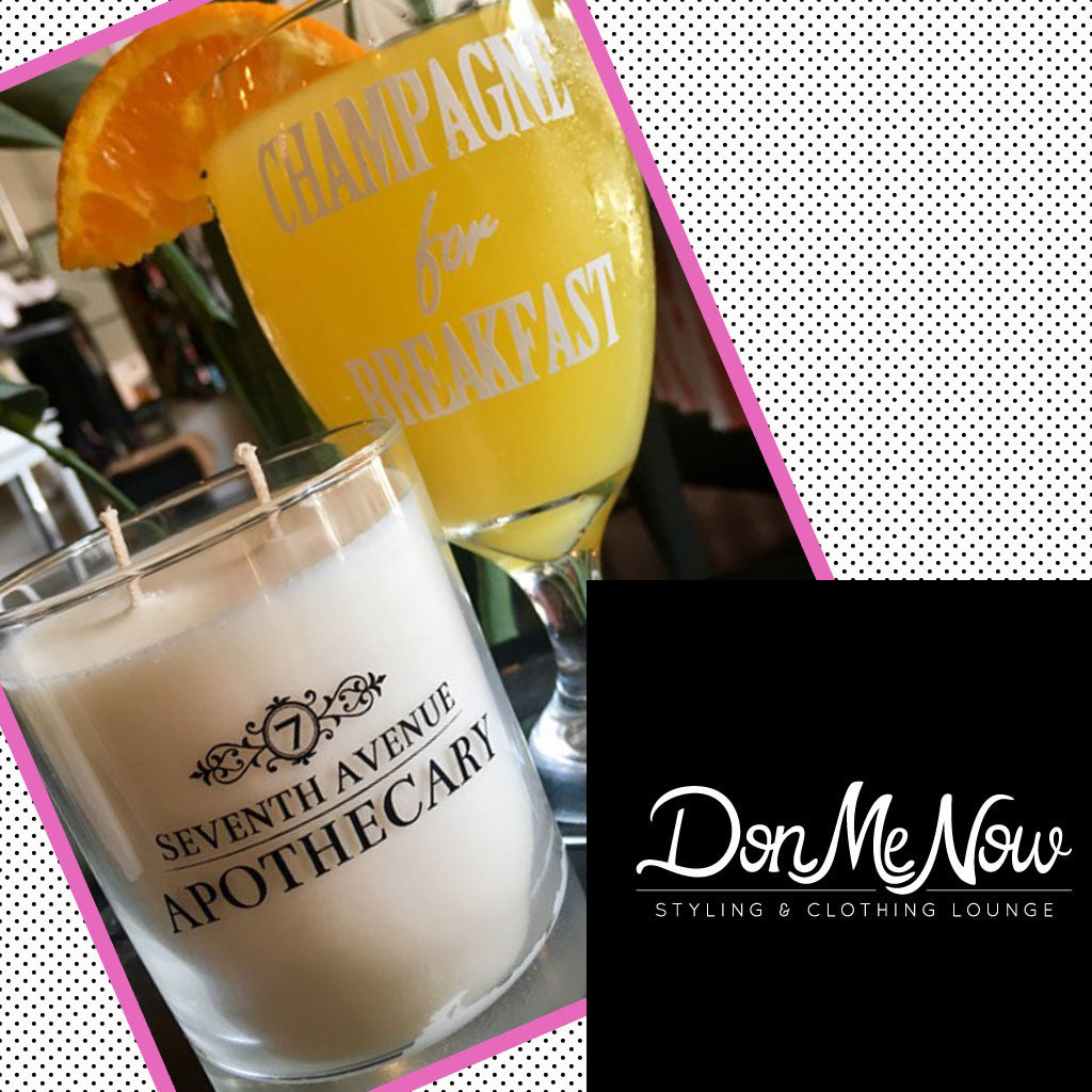 Champagne for Breakfast Candle Workshop with Don Me Now