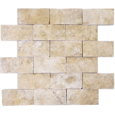 4X2 SPLIT FACE CLASSIC TRAVERTINE