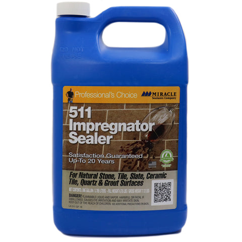 511G IMPREGNATOR GALLON SEALER FOR NATURAL STONE AND GROUT