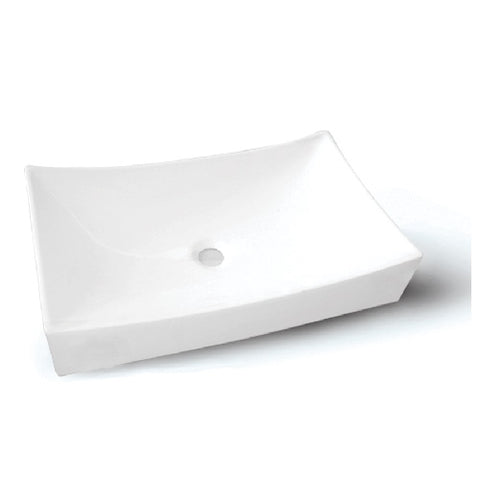 Allos Porcelain Vessel Sink