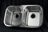 Stainless Steel Sink 18ga. - 50/50