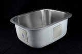 Stainless Steel Sink 18ga. - Small Tub