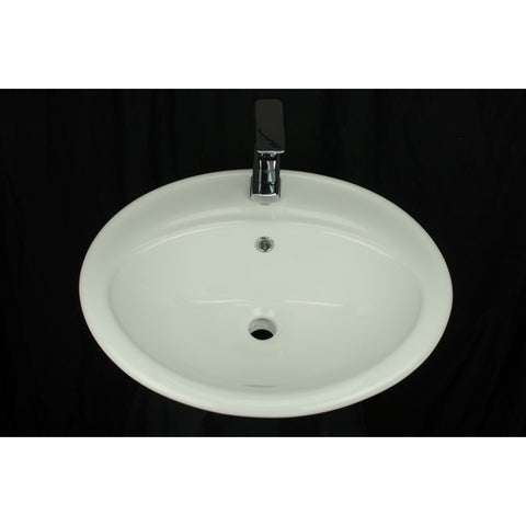 Daisy - Drop-In Porcelain Sink