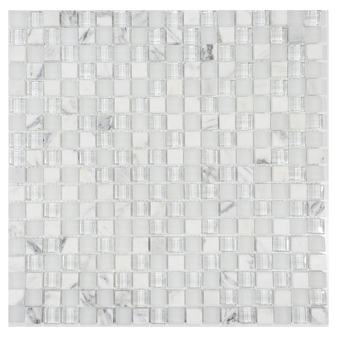 LUCENTE AMBRATO GLASS AND STONE MOSAIC