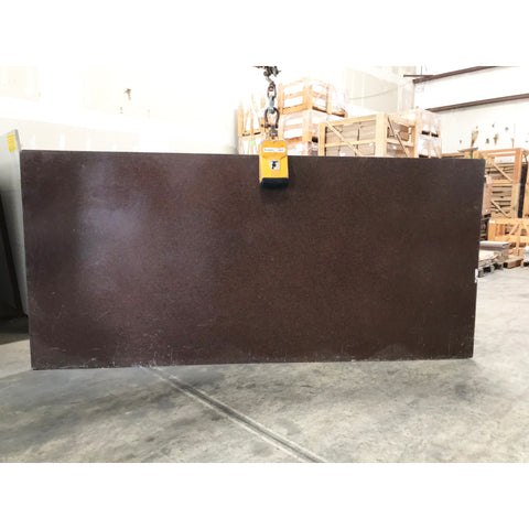 Maroon 3CM Quartz 55X120 45.83 SF/Slab | Lot #: S500160