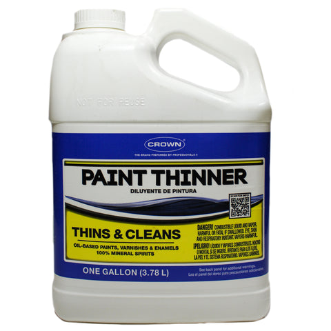 CROWN PAINT THINNER 1 GALLON