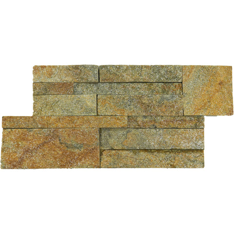 RUSTY QUARTZITE LEDGER PANEL 7X14 4.76 SF/BOX
