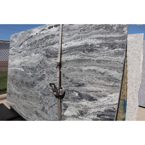Fantasy Brown 3CM Marble 77X120 64.17 SF/Slab | Lot #: S500100