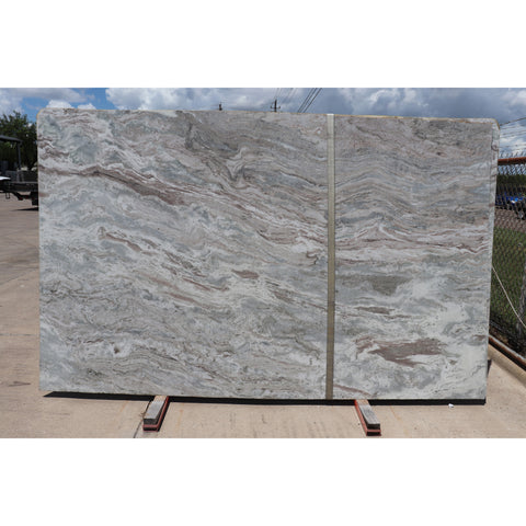 Fantasy Brown 2CM Marble 77X124  66.31 SF/Slab | Lot #: S500101