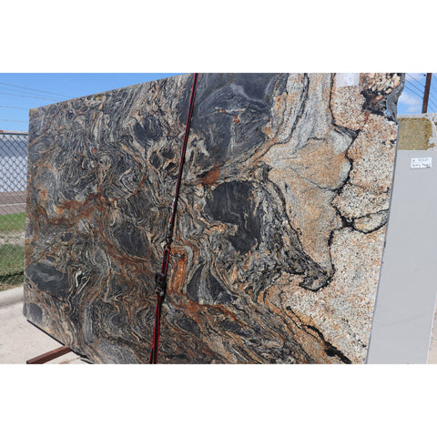 Sedna Motion 2CM Granite 80X122  67.78 SF/Slab | Lot #: S500115