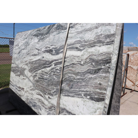 FANTASY BROWN 3CM MARBLE 77X120 64.17 SF/SLAB | LOT# S500128