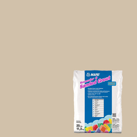 Mapei Sanded Grout - Bone 25 lb