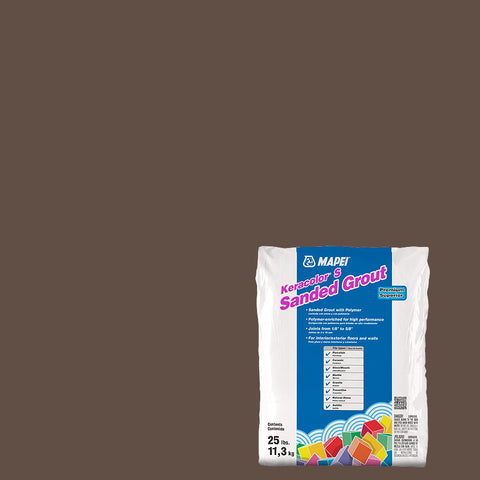 Mapei Sanded Grout - Cocoa 25 lb