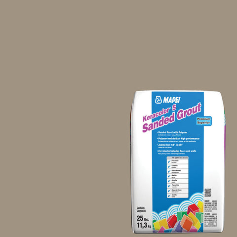 Mapei Sanded Grout - Driftwood 25 lb