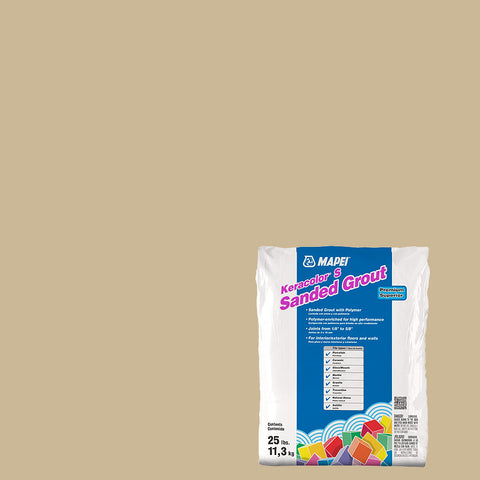 Mapei Sanded Grout - Harvest 25 lb