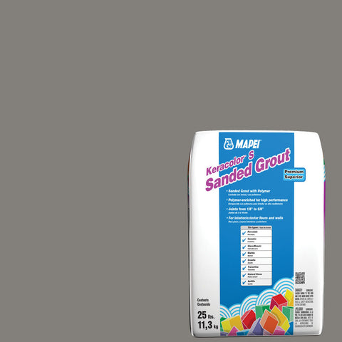 Mapei Sanded Grout - Iron 25 lb