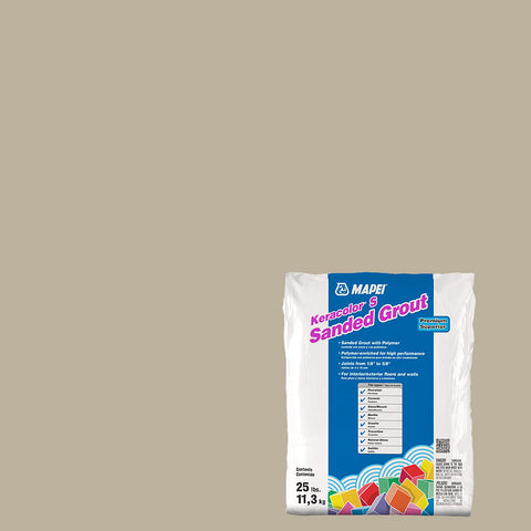 Mapei Sanded Grout - Ivory 25 lb