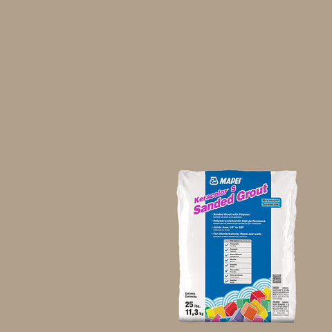 Mapei Sanded Grout - Navajo Brown 25 lb