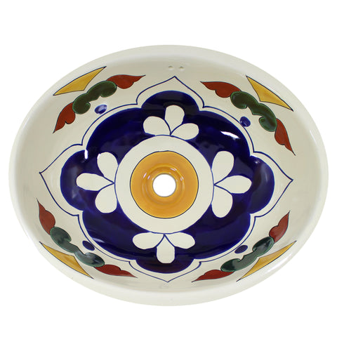 T-33 LARGE OVAL TALAVERA SINK