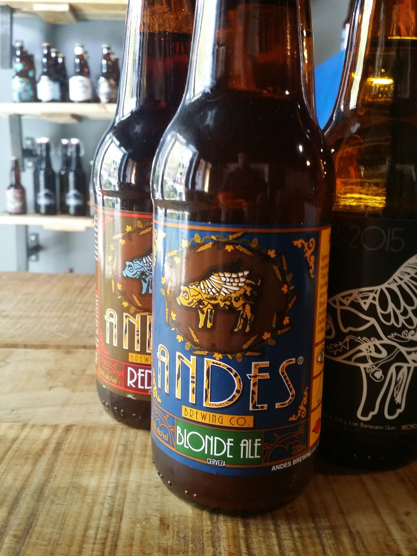 Andes Blonde Ale