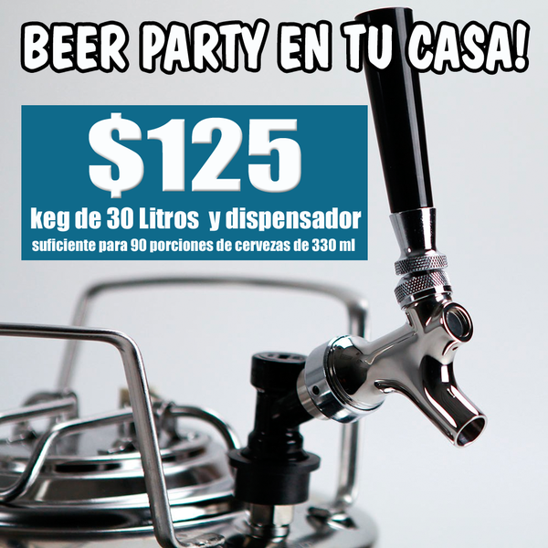 BEER PARTY Package - Abril 2018 - VIVA Cerveza!®
