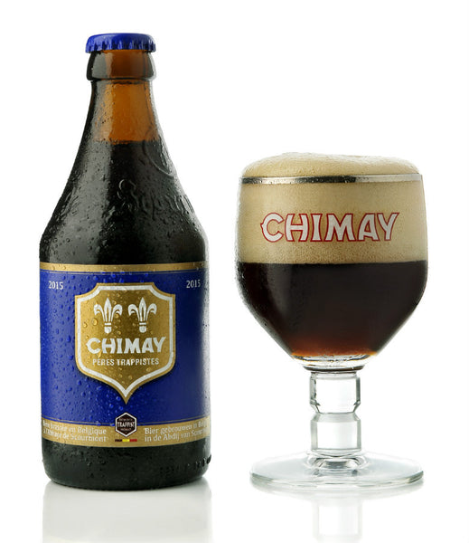 Chimay Belgian Strong Ale Trappist (Blue / Azul) - VIVA Cerveza!®