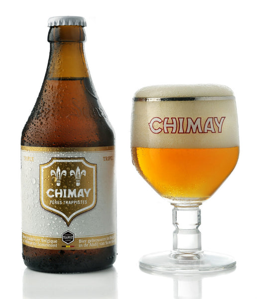 Chimay Triple Ale Trappist (White / Blanco)
