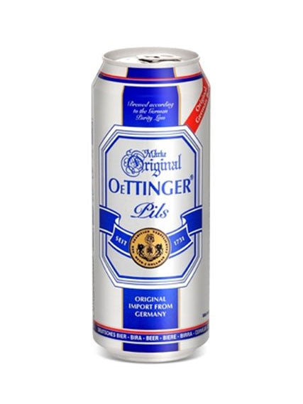 Oettinger Pils 500ml Lata Can - VIVA Cerveza!®