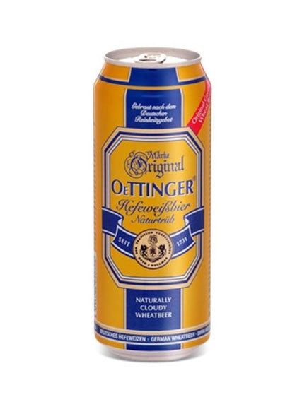 Oettinger Weissbier 500ml Lata Can - VIVA Cerveza!®