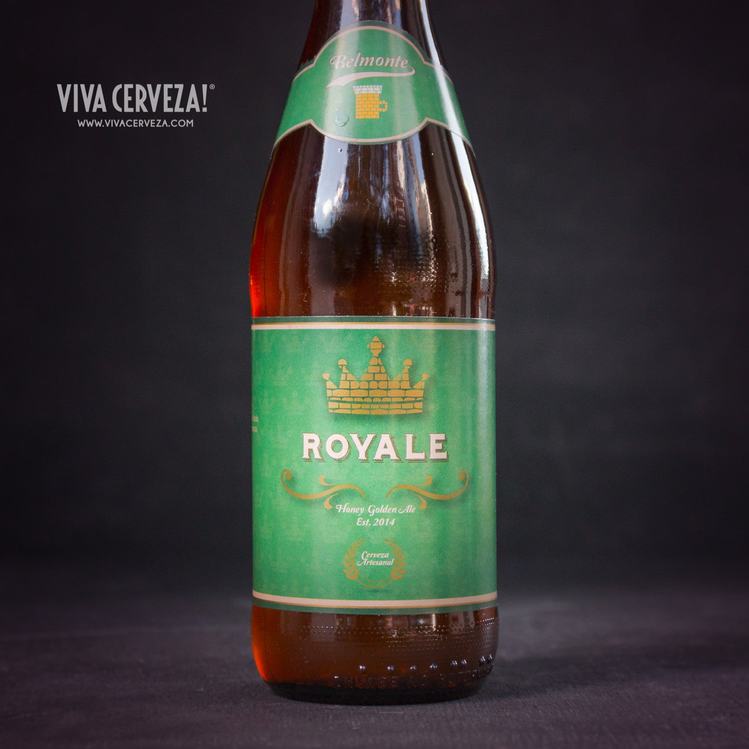 Belmonte Royale - 300ml Botella Cerveza Artesanal Craft Beer Ecuador - %