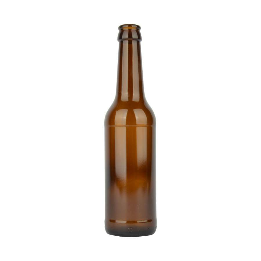 Botellas Cerveza Vidrio - Long Neck 350ml 12oz Con Tapa