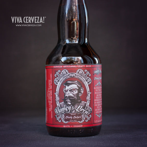 Monkeys Brew Bloody Bastard Irish Red - VIVA Cerveza!®