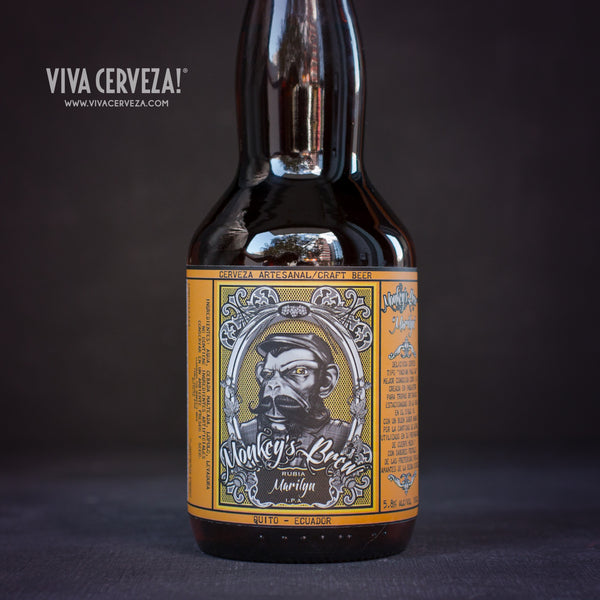 Monkeys Brew Marilyn IPA - VIVA Cerveza!®